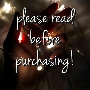 Please Read before Purchasing 😍🤩😘